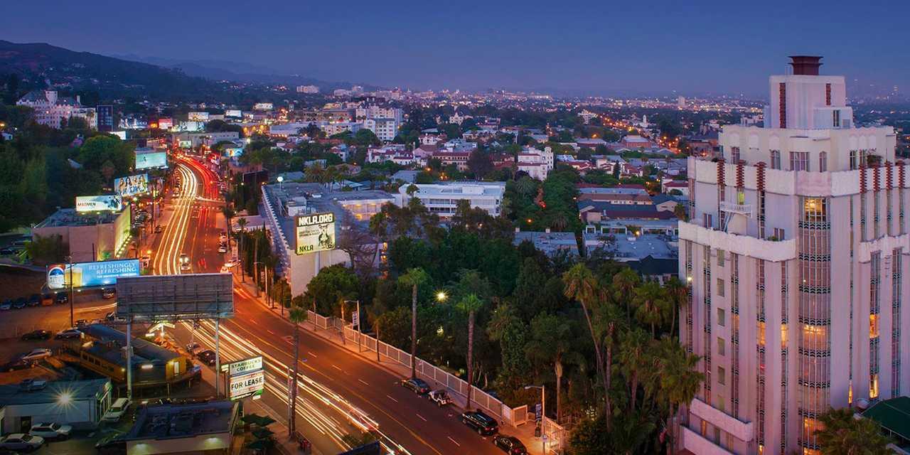 West Hollywood Sunset Blvd